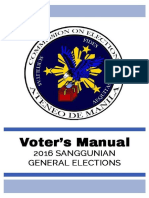 2016 Voters' Manual