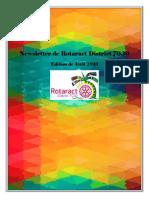 District Newsletter April 2016 (Francais)