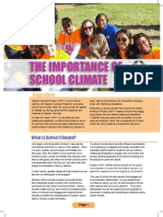 The Importance of School Climate