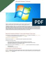 Windows 7 Ultimate [Informacion,Tutorial e Instrucciones