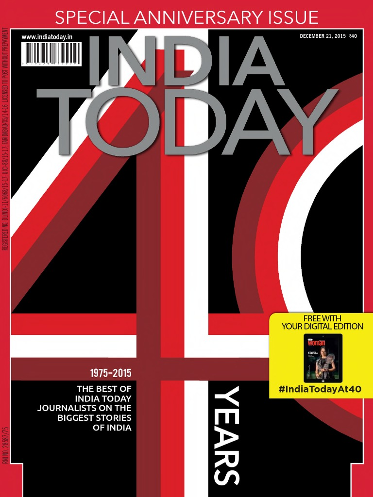 india today 21 dec 2015 spl anniversary issue untouched dr