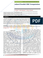 Generalized Parallel CRC Computation