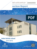 KHDA Dubai British School 2014 2015