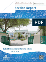 KHDA Dubai International Private School 2014 2015