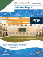 KHDA Dubai International Academy 2014 2015