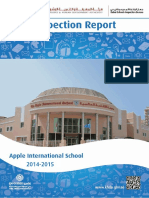 KHDA Apple International School 2014 2015