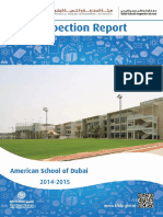 KHDA American School of Dubai 2014 2015