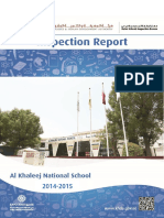 KHDA Al Khaleej National School 2014 2015