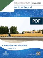 KHDA Al Mawakib School Al Garhoud 2014 2015