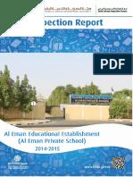 KHDA Al Eman Educational Est 2014 2015