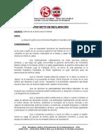 PD - Respaldo a la democracia en Brasil