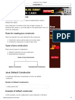Constructor in Java - Javatpoint