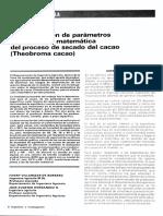 Dialnet DeterminacionDeParametrosYSimulacionMatematicaDel Cacao