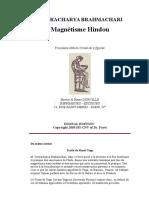 Içvaracharya Brahmachar1.Magnétisme Hindou