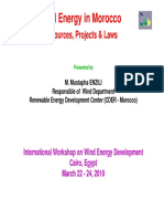 Enzili_Mustapha-Wind Energy in Morocco-Resources, Projects & Laws