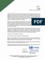 CARTA DE AGRADECIMIENTO DE AYNE