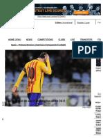Lionel Messi on Worst Scoring Run Since 2011 - Goal