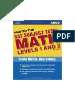 Master SAT II Math