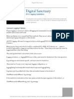 DS ATG Logging Guidelines