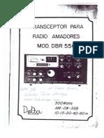 Manual Delta Dbr550