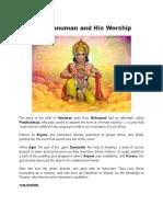 LordLord Hanuman and His Worship.docx Hanuman and His Worship