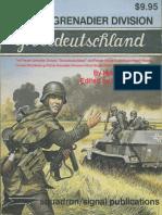 Squadron Signal 6009 Panzer Grenadier Division Grossdeutschland