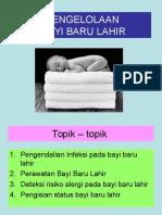 Perawatan Bayi Baru Lahir ppt