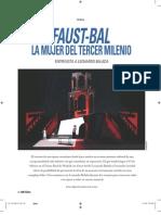 Faust-bal - La mujer del tercer milenio