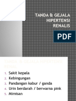 Tanda & Gejala Hipertensi Renalis