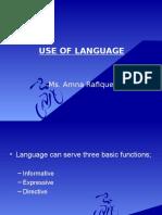 3 Week, Use of Language logical and critical thinking