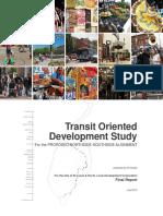 Transit Oriented Development Plan Proposed Northside Southside