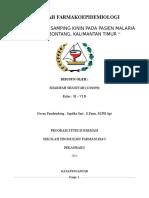 Makalah Farmakoepidemiologi Sharifah Shaniyah ( 1301090 )