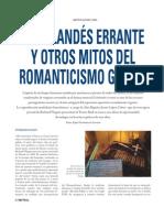 El holandes errante y otros mitos del Romanticismo gótico