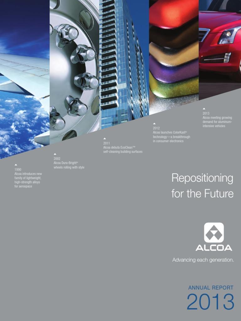 Alcoa - 2013 Annual Report | Form 10 K | Stocks
