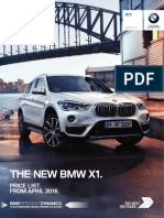 BMW X1 Price List April 16