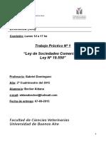TP1  SOCIEDADES COMERCIALES