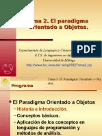 Programación Orientados a Objetos