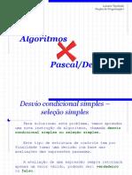 Algoritmos x Pascal