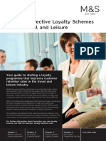 M&S Effective Loyalty Schemes Within Travel And Leisure