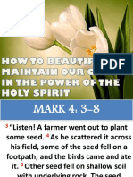 How to Beautify and Maintain Your Garden in the Power of the Holy Spirit 062015 Edited