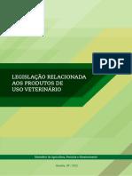MAPA 2012 - Legislação Relacionada Aos Produtos de Uso Veterinário