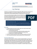 ETransparency Summary - Corrected