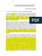 SANTOS-FILHO, S. B. Um Olhar Sobre o Trabalho Em Saúde Nos Marcos Teórico-político Da Saúde Do Trabalhador No Humanzia SUS