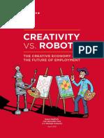 Creativity vs. Robots Wv