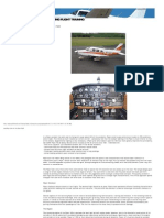 Handling Notes on the Piper Pa28