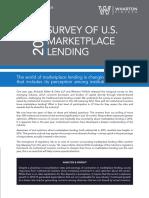 2016 Marketplace Lending Survey