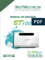 Manual Do Operador BT 100 - Março 2010