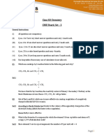 Chemistry Solution 2015 Set 2