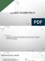 Ensayo Edométrico Expo