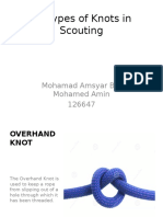 Rover scouts knots guide